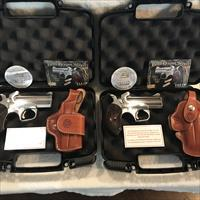 "BOND ARMS ""TALO"" DRAGON SLAYER SET / TWO GUNS / TWO HOLSTERS"