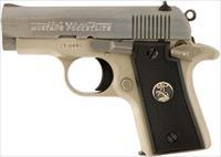 REDUCED * COLT MUSTANG 380 ACP SS CERAKOTE