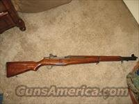 M1 Garand gas trap serial with national match setup - NM