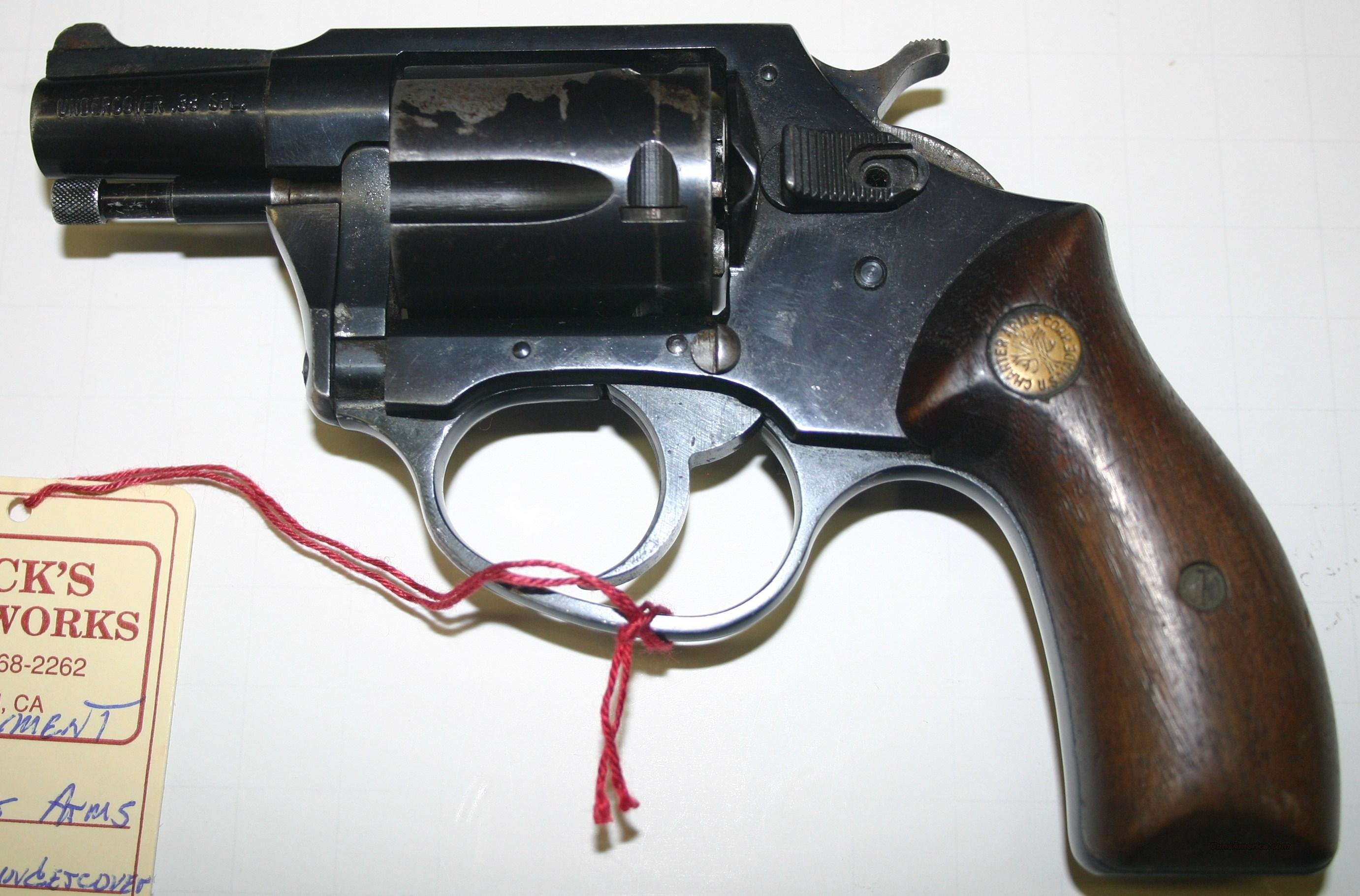 Charter Arms Undercover Parts Gun  38 special