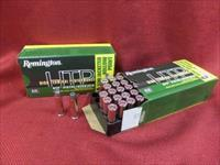 .357 mag, 100rds Remington HTP SJHP, 125 gr