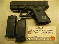 Used GLOCK 27 Gen-3 .40 Pistol, 2 Mags, Police Trade In