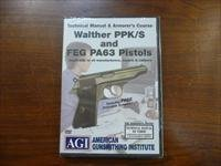 AGI Armorer's Course for Walther PPK/S & FEG PA63 Pistols