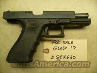 Used GLOCK 17 9mm Police Trade In with 3 used hi-cap Glock mags