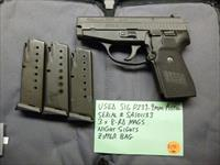 Used Sig P239 239 9mm Pistol with 3 8-Rd Mags & Night Sights