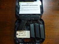 Used Glock 17 9mm Pistol with 3 Hi-Cap Mags, Night Sights, Glock Box & Manual