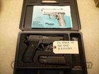 Used Sig P226R .40 Pistol with 3 High Capacity Mags, N/S & Box, Police Trade-In