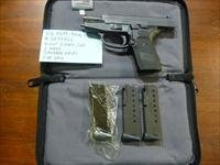 Used Sig P239 239 9mm Pistol, Night Sights, 3 Mags, Zipper Bag