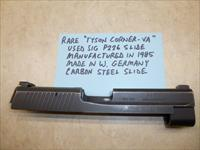 "RARE Sig P226 West German, Carbon Steel Slide - ""Tyson Corner-VA"" - Manufactured 1985"