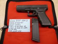 Used Glock 21SF 21 SF Gen-3 .45 Police Trade-In with Night Sights