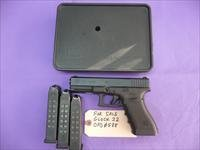 Used Glock 22 .40 Pistol, 3 Hi-Cap Mags, Night Sights, Glock Box, Police Trade-In