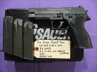 Barely Used Sig P226R 226 9mm Pistol, E2 Slide, E2 Grips, SRT, 3 Hi-Cap Mags & Night Sights