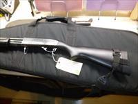 Used Remington 870 Magnum 12-gauge Pump Shotgun, Police Trade-In, Black Wood Stock