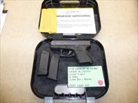 Glock 27 .40 Caliber Pistol with Night Sights, 2 x Mags & Glock Box - Perfect for Concealment
