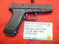 Used Gen-2 Glock 22 .40 Caliber Pistol with Zipper Bag