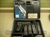 CALIFORNIA SPECIAL: Used Sig P239, 239 9mm Pistol, 3 Mags, Night Sights, Sig Box & Manual / Police Trade-In