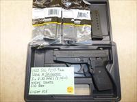 Used SIG P239 9mm Pistol with 3 x Mags, Night Sights & Sig Box.  Serial #/SA100000.  Great for Conceal Carry