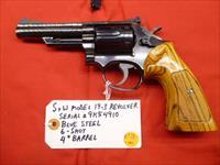 Classic S&W Model 19-3 .357 6-Shot Revolver, Used with 4