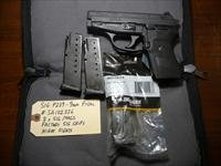 Used Sig P239 239 9mm Pistol, 3 Mags & Night Sights