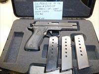 Lightly Used Sig P220 ELITE .45 Caliber Pistol, 3 x Mags, Night Sights, SRT, Short Trigger & Sig Box, Police Trade-In