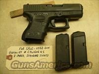 Used Glock 27 Gen-3 .40 Caliber Pistol, 2 Mags, Police Trade In