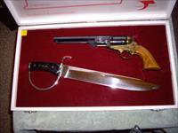 Schneider and Glassick Confederate pistol and sword