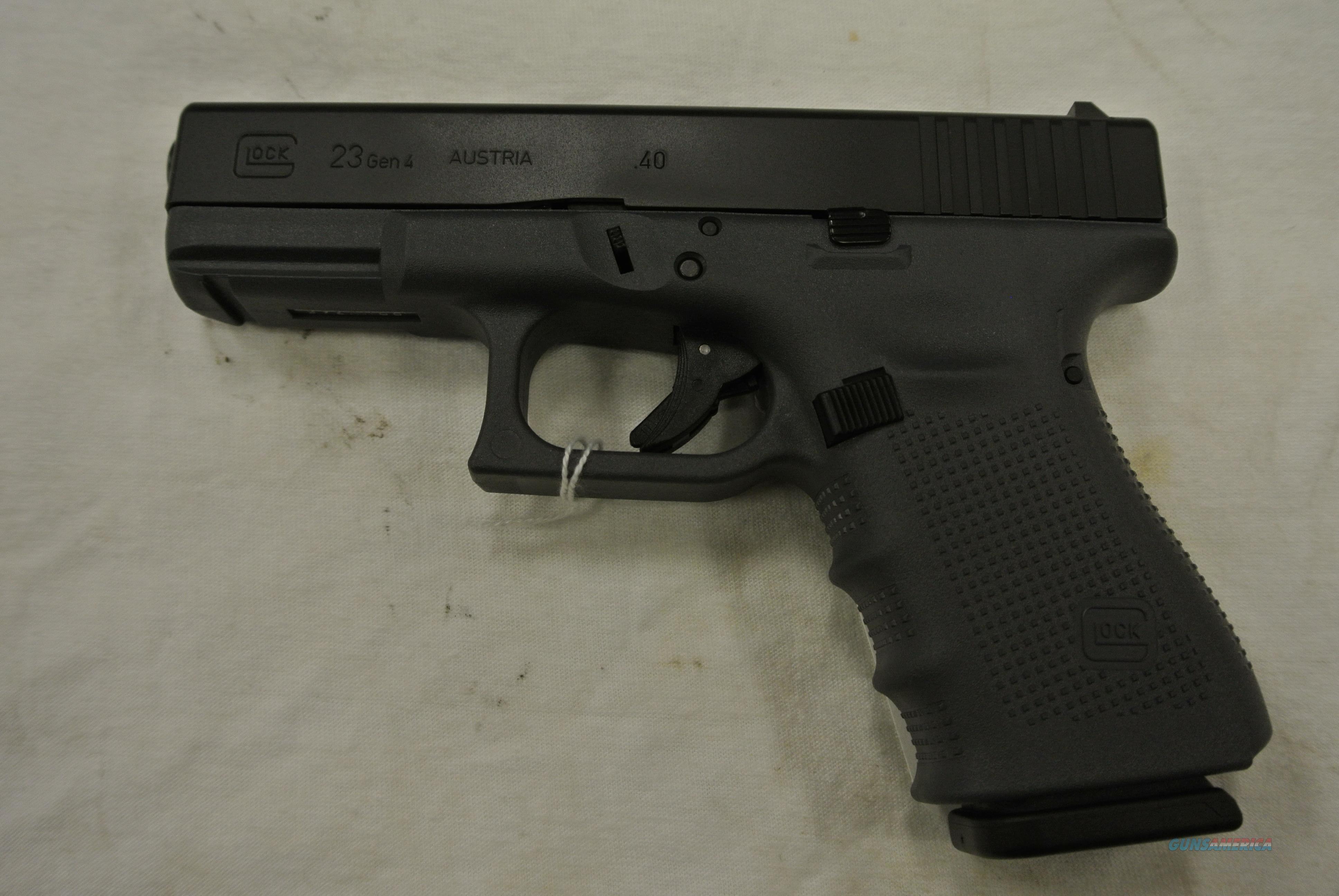 Glock 23 Gen 4 40 S&W pistol, Limited Edition G... for sale