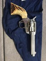 Colt Scout Nickle stag grips with box 1962