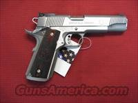 SPRINGFIELD 1911A1 S/S LOADED TROPHY MATCH