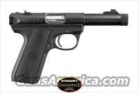 RUGER MKIII 22/45  PISTOL WITH TB