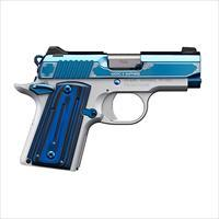 "EASY PAY $89 LAYAWAY  Kimber Micro 9 Sapphire Pistol KIM3300111, 9MM, 3.15"", Sapphire/Black Grips, Sapphire Slide, 6 Rd"