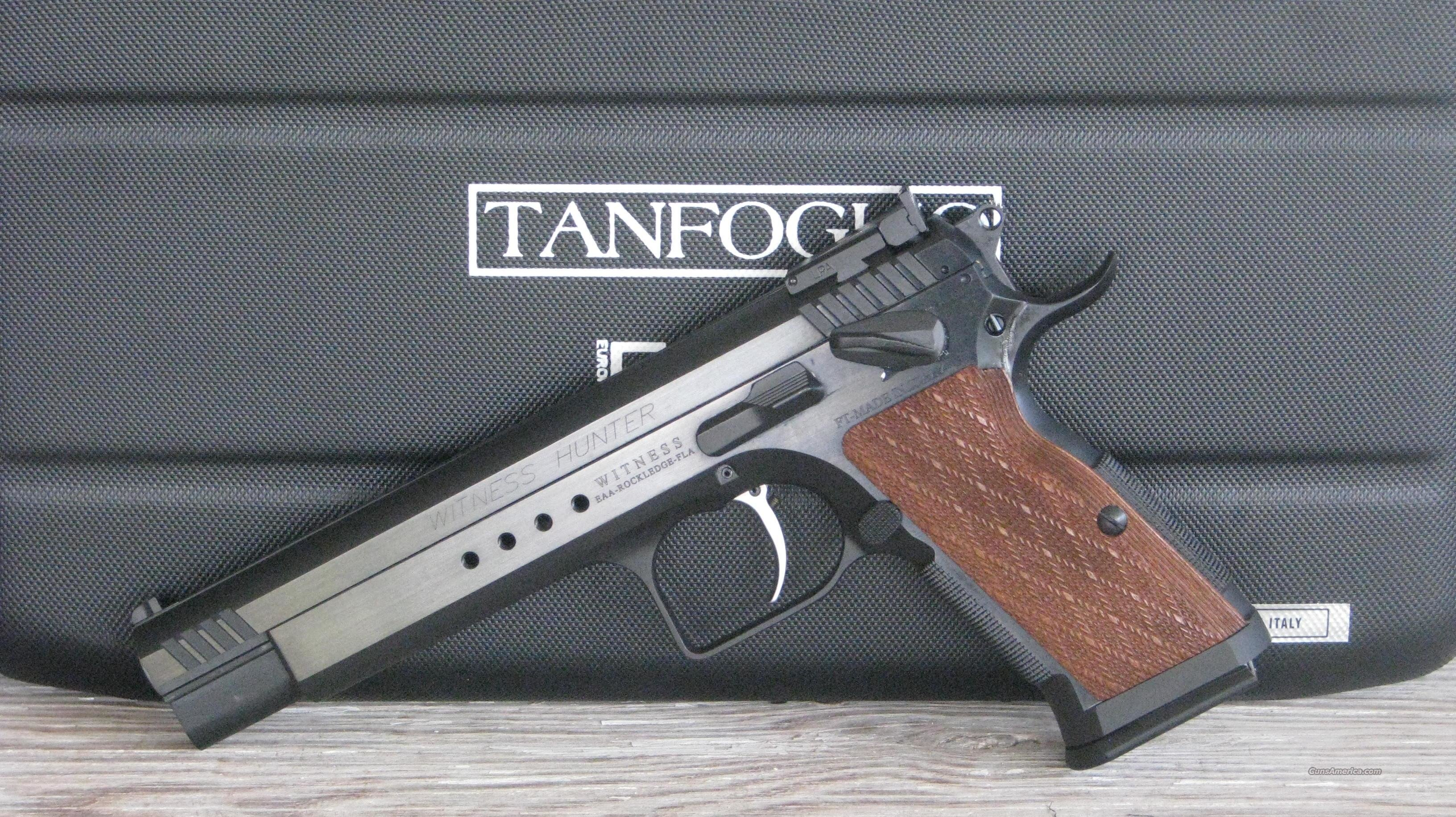 Ez Auto Sales >> Tanfoglio EAA Witness Hunter 10mm 600252 /EASY ... for sale
