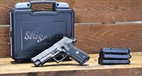 "EASY PAY $110 DOWN LAYAWAY 12 MONTHLY PAYMENTS Sig Sauer service use today! Elite NS  Day Night Sights Beavertail  E26R9LEGIONS series P226 Legion  Gray PVD Finish SAO 9mm 4.4"" 15+1 Black G10 Grip Gray PVD"