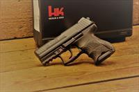 EASY PAY $55  HECKLER & KOCH Conceal and Carry USA P30SK model H&K DA/SA  v3 subcompacts  Law Enforcement ambidextrous controls  Picatinny rail Grips Black Synthetic ultra compact grip frame 730903KA5 9mm