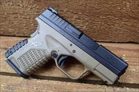 "EASY PAY $50 DOWN LAYAWAY 12 MONTHLY PAYMENTS Springfield XDS  XD Pocket Pistol .45 ACP 3.3"" Barrel Concealed carry 6 Rounds Polymer Two Tone FDE Black XDS93345DEE 706397901646"