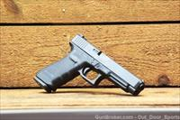 $63 Easy PAY GLOCK 41 Gen 4 G-41 G41 longer slide & barrel Reduces muzzle flip improves velocity .45 ACP Accessory rail Black Polymer frame Striker-fired competition duty Carry Hunting PG4130103