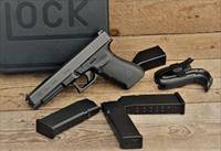 $60 Easy PAY GLOCK military style  G41 Gen 4 G-41  longer slide & barrel Reduces muzzle flip improves velocity .45 ACP Accessory rail Black Polymer frame Striker-fired competition duty Carry Hunting PG4130103