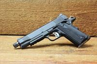 "EASY PAY $80 DOWN LAYAWAY 18 MONTHLY PAYMENTS  Kimber Custom II TFS 3200294 THREADED Based on carried LAPD SWAT duty carry 5"" 1911  3200294 9mm Matte black Tactical Rail Law Enforcement  stainless steel night sights threaded"