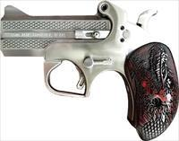 "EASY PAY $56 DOWN LAYAWAY 12 MONTHLY PAYMENTS Bond Arms Dragon Slayer limited edition CONCEALED CARRY made in the U.S.A.!  Derringer Break Action Pistol .357 Mag 3.5"".357 Magnum accepts .38 Special Double Barrel 2 RDS POCKET PISTOL  Steel"