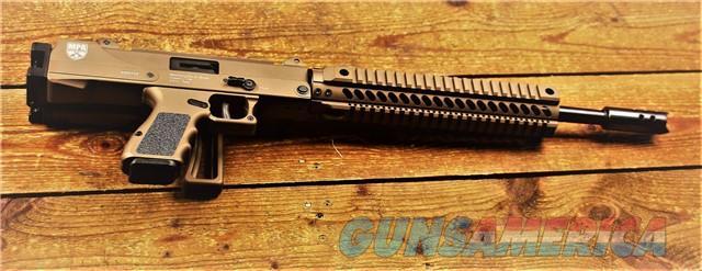 EASY PAY $72 LAYAWAY MPA DEFENDER CARBINE Masterpiece Arms accepts standard  GLOCK magazines GLK MAGS QUAD RAIL MUZZLE BRAKE threaded barrel FOLDER