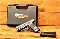 EASY PAY $34  Steyr M9-A1 developed primarily for Concealed and Carry Picatinny Accessory Rail Black Polymer Durable innovative grip 17RDS  integrated rail mount  light laser combo Combat Sights   688218663714 M9A1 397232K