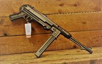 "$38 EASY PAY German Sport MP40P WWII MP-40 Used by Communists Dictators and now open to the American public Sling Recommended ATI MP40 25 rds synthetic grips 9mm black PISTOL barrel 10.8 "" compatible with original MP-40 parts GERGMP409X"