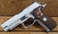 SIG P226 Night/s Walnut Grip
