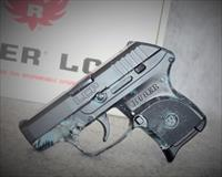 EASY PAY $31 DOWN LAYAWAY 12 MONTHLY PAYMENTS Exclusive RUGER  Model LCP  Camo Conceal and Carry Pocket Pistol Or Backup Carry camouflage KRYPTEK NEPTUNE  Lightweight DAO Pistol Blue Compact   3743  NIB  .380ACP