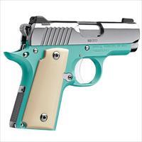 KIMBER  Micro 9 CDP is a great compact 9mm  BelAir 9MM BLUE Ivory Micarta grips concealed carry Stainless steel KIM3300110