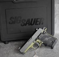 SIG Sauer P938  concealed carry NIGHT SIGHT ARMY GREEN TALO EASY PAY $60