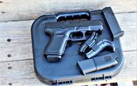 EASY PAY $57 DOWN LAYAWAY 12 MONTHLY PAYMENTS GLOCK 19 G19 G-19 GEN5 Compact GRIP BLK  9MM LUGER FS 15-SHOT BLACK GEN 5 FULL SIZE GLK BLACK POLYMER SIGHTS FIXED  3 15 RD Magazines PA1950203 764503022630