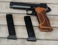 1. $89 EASY PAY SIG SAUER P210A P210 Series Target Grade Custom Trigger WALNUT Wood grips Fiber Optic and Adjustable Sights 9MM  BARREL 5