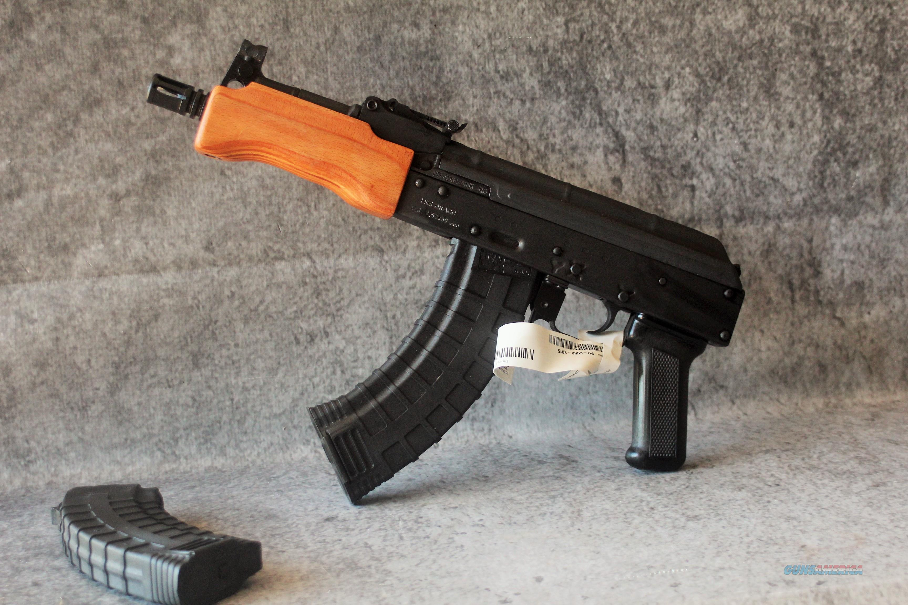 EASY PAY $50 layaway Pistol Grip Century Arms Mini Draco Chrome Lined AK  style handgu 4k-47 rd