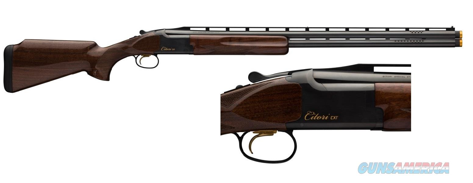 "EASY PAY $163  Layaway Browning Citori CXT field and clays trap Double barrel s 32"" lightweight profile Break Action Over/Under 12 Gauge Grade II American Walnut Polished Blued Finish Inflex Recoil Pad Chrome plated chamber BRN 018074327"